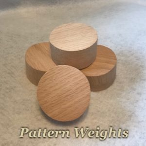 Set of 4 Pattern Weights