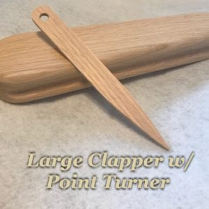 Large Clapper with Point Turner