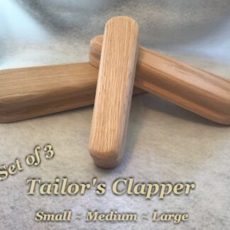 Set of 3 Tailor's Clappers