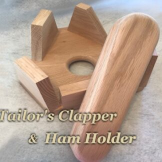 Tailor's Clapper and Tailor's Ham Holder